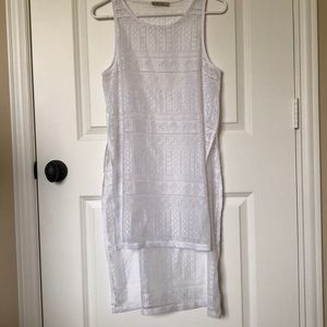 Hi-Low Sheer Tank/Cover up